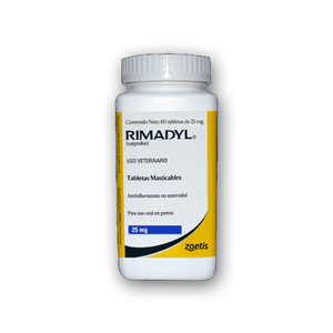Rimadyl 25mg Tabletas Masticables