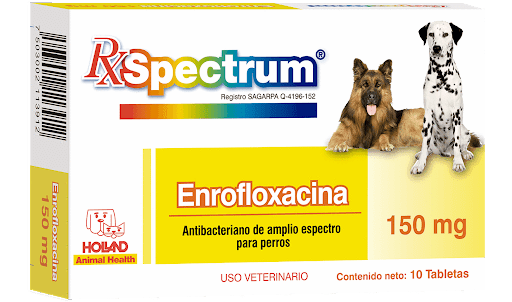 Spectrum Enrofloxacina 150mg Tabletas
