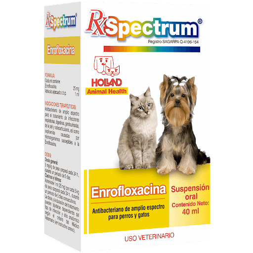 Spectrum Enrofloxacina Suspensión Oral 40ml