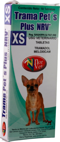 Trama Pets Plus XS 10 Tabletas