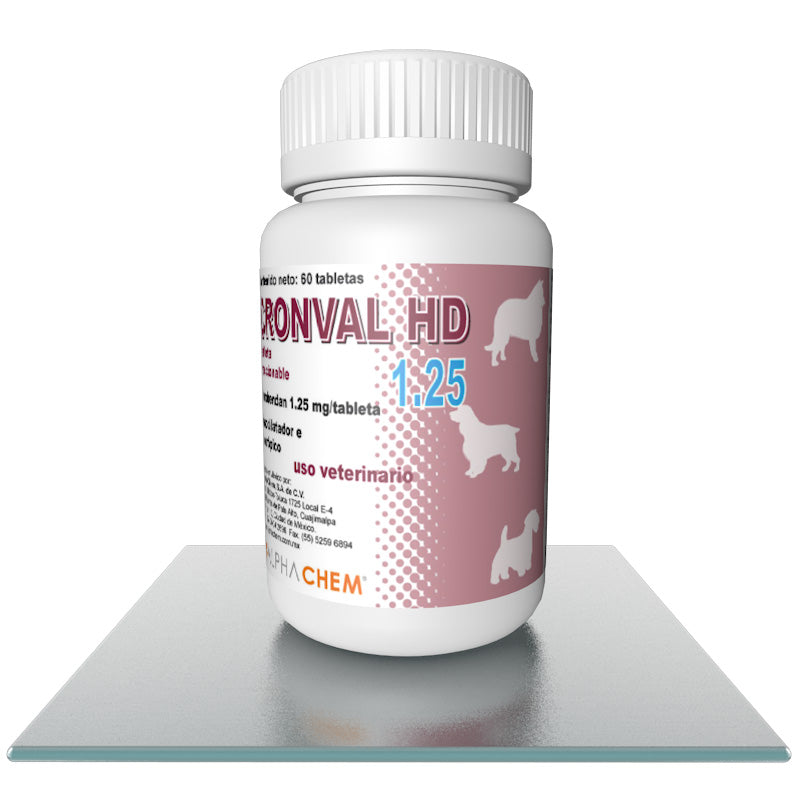 Cronval HD 1.25mg Tabletas