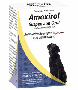 Amoxirol Suspensión Oral 50ml