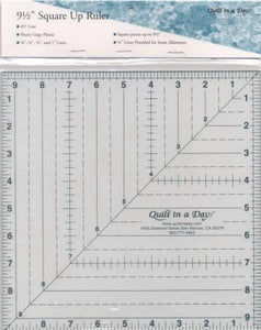 "9 1/2"" Square Up Ruler"