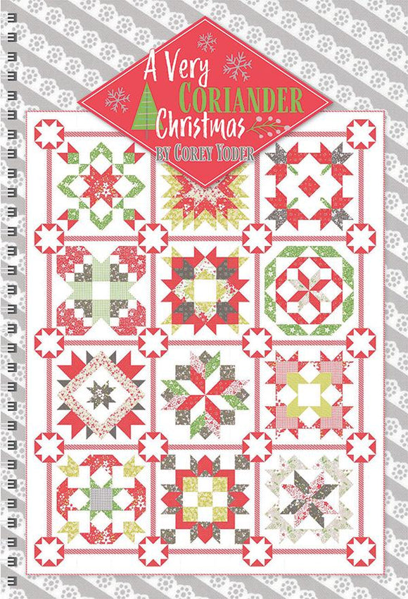 A Very Coriander Christmas Quilt Book