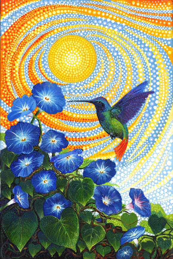 Dreamscapes Humming Bird Panel