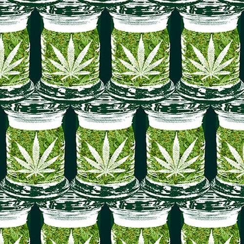 Herban Sprawl Cannabis Jars