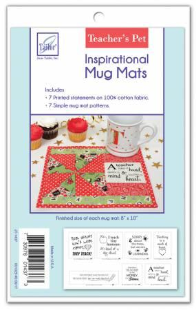 Inspiratonal Mug Mats Teacher's Pet