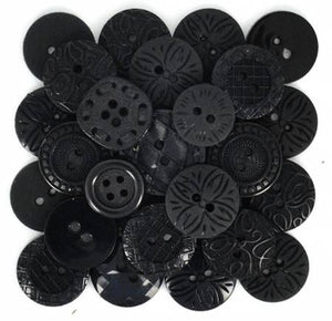 Color Me Black 18ct Button
