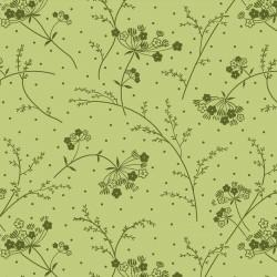 KimberBell Basics Flower Vine Green