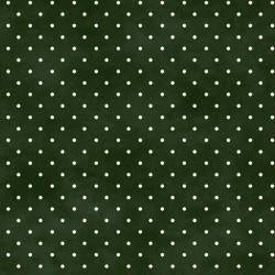 Kimberbell Basics Green Dots on White