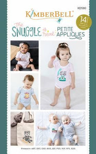 Kimberbell The Snuggle is Real Petite Appliques CD