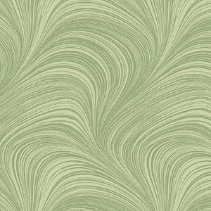 Wave Texture Green Wide
