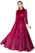 Wine rose anarkali
