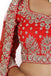 Rudy red lehenga set
