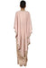 Rose golden concept drape with cape