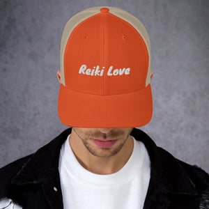 Reiki Love Trucker Hat