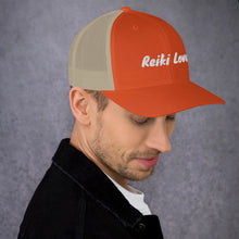 Load image into Gallery viewer, Reiki Love Trucker Hat