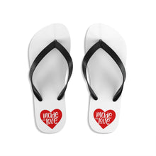 "Load image into Gallery viewer, ""LOVE MADE""  Flip-Flops"