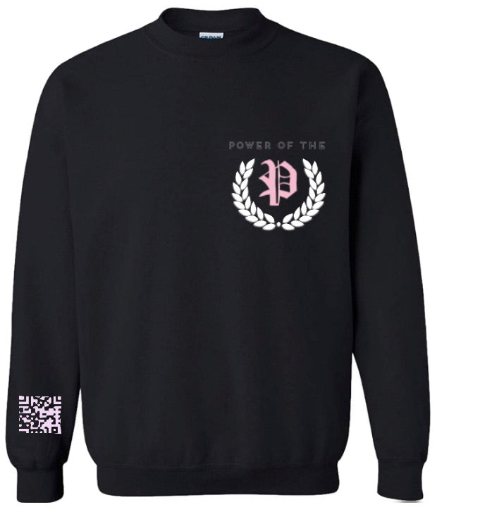 """P University"" [Onyx Rosë] Sweatshirt"
