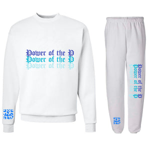 """Power of the P"" [Ice Ocean] Sweatsuit"