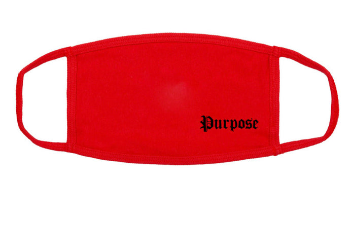 Purpose 'Ruby' Face Mask