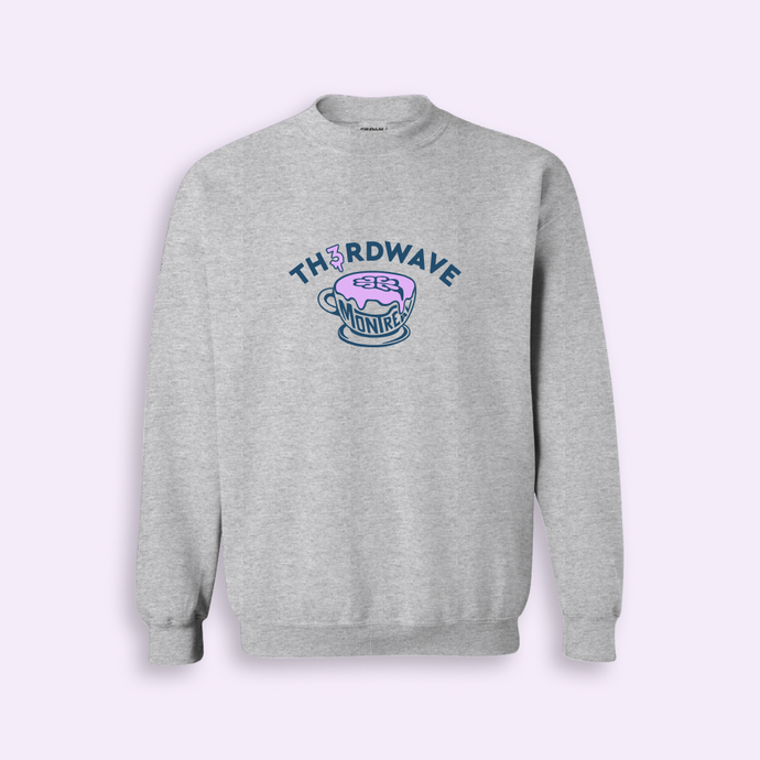TH3RDWAVE LATTE CREWNECK • LILAS