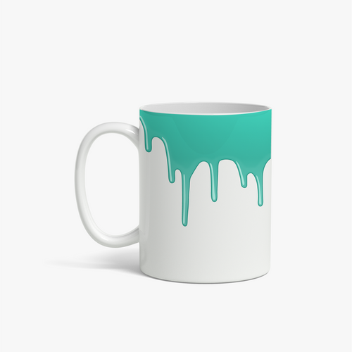 GREEN DRIPS | TASSE