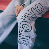 DRGN Line logo Sweat Pants - Grey
