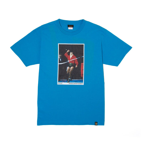 Red Jacket Photo Tee - L.Blue