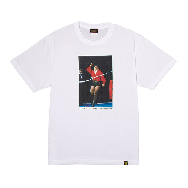 Red Jacket Photo Tee - White