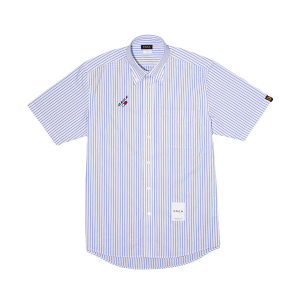 Capsule Shirt - Short Sleeve - Blue Stripe