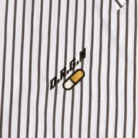 Capsule Shirt - Short Sleeve - Black Stripe