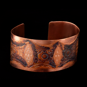 Copper Cuff Wide and Gender Neutral