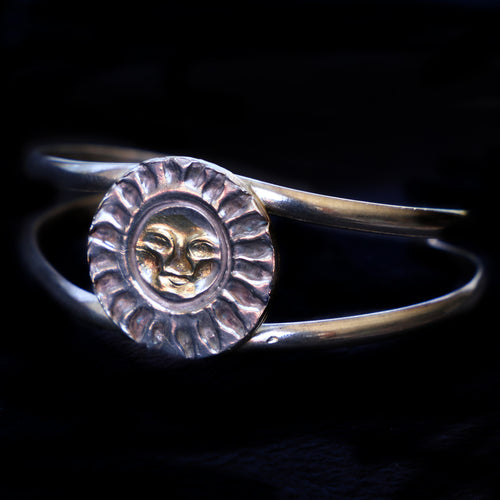 Bracelet With Sun face Medallion