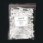 White FLYT Golf Tees (Pack of 100)