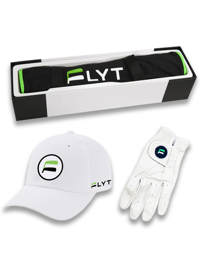 FLYT Player's Bundle - Chipping Sleeve, Hat, and Glove