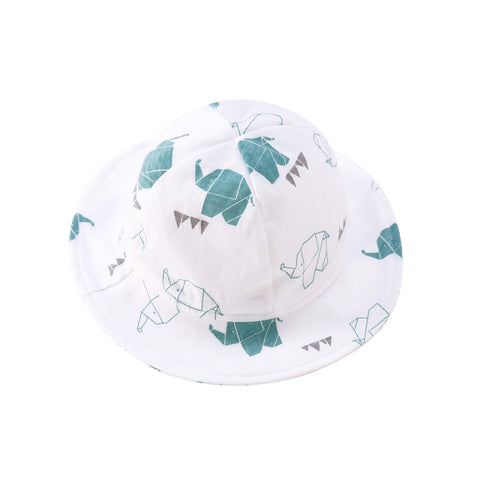 Pureborn Infant Elephant Bucket Hat