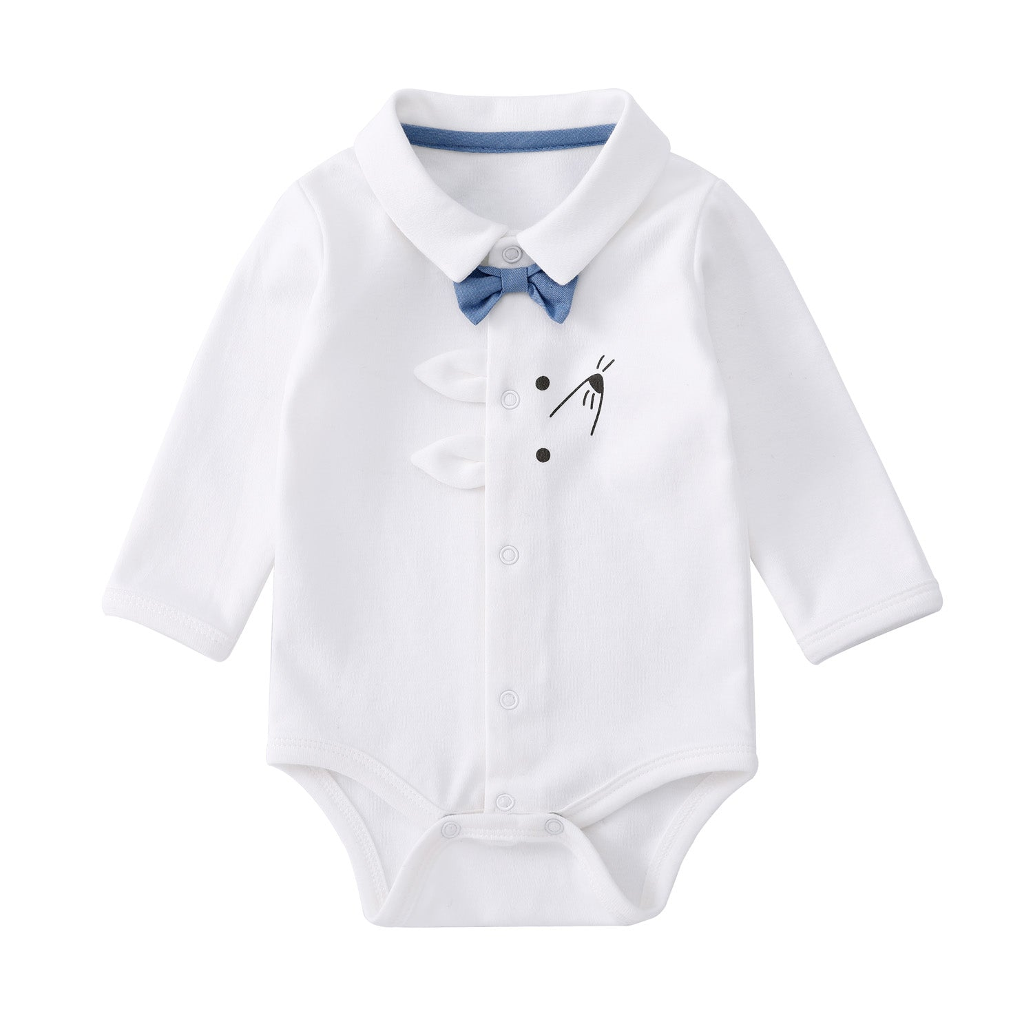 Pureborn Baby Boy Cartoon Bodysuit