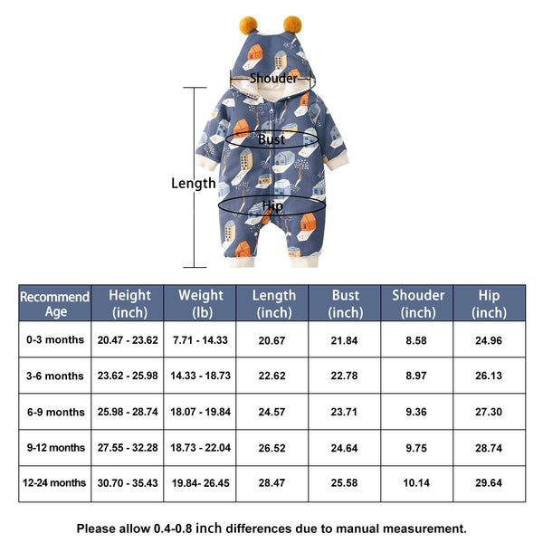 Pureborn Cartoon Prints Jumpsuits