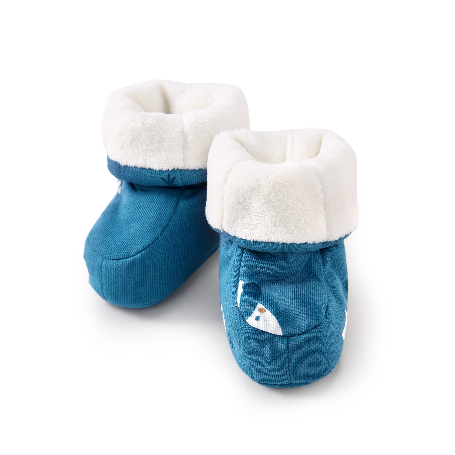 Pureborn Baby Cartoon Soft Booties