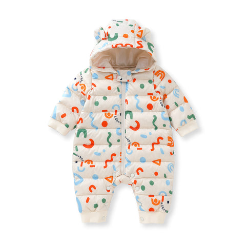Pureborn Newborn Down Winter Jumpsuit