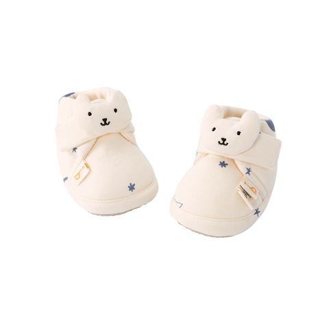 Pureborn Baby Cantoon Kitten Shoes