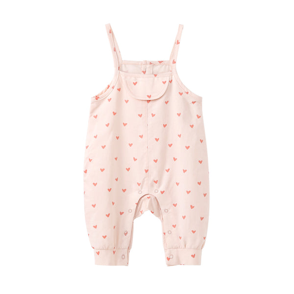 Pureborn Baby Girl Variety Prints Overalls