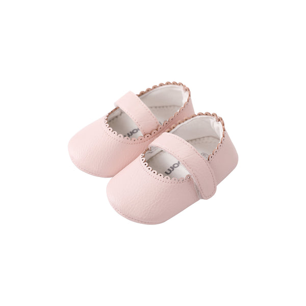 Pureborn Baby Leather Crib Shoes
