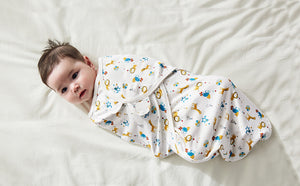 Pureborn Newborn Baby Swaddle Receiving Blanket