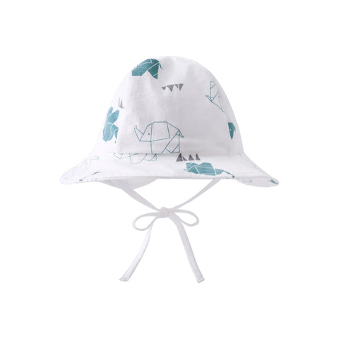 Pureborn Unisex Baby Cartoon Elephant Sun Hat