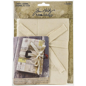Tim Holtz Fabric Journal