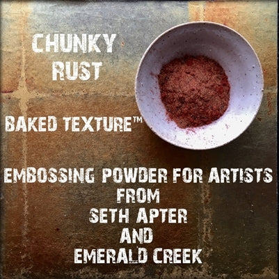 Emerald Creek Chunky Rust Embossing Powder
