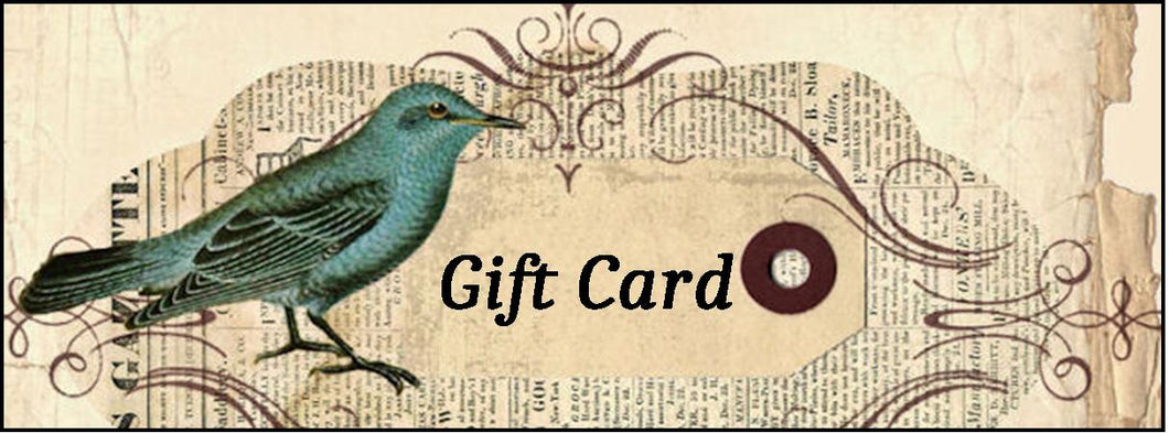 Gift Cards - Choose Your Denomination