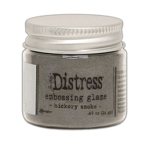 Hickory Smoke Distress Embossing Glaze